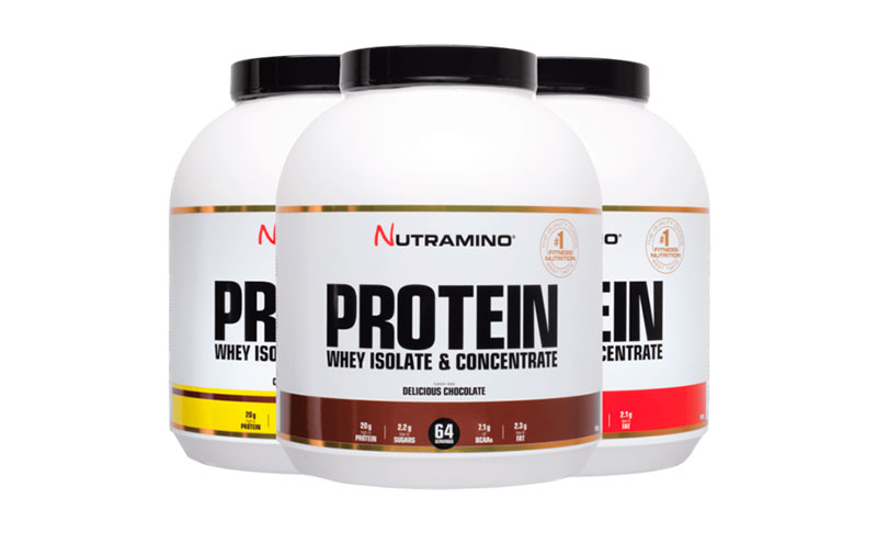 nutramino whey protein tilbud